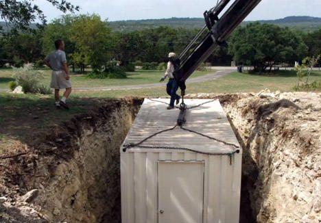 Wenn Ein Seecontainer Zum Bunker Wird Containerbasis De