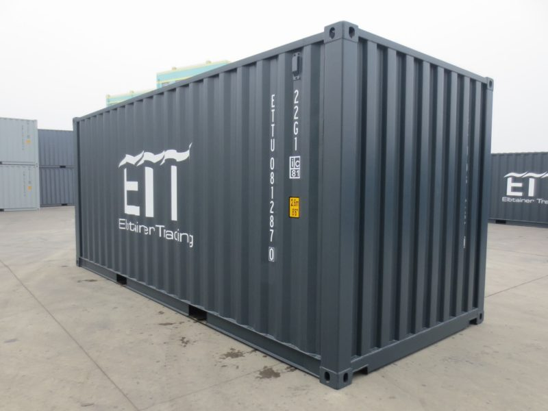 20 fu container grau. Black Bedroom Furniture Sets. Home Design Ideas