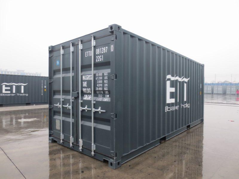 20 fu container grau. Black Bedroom Furniture Sets. Home Design Ideas