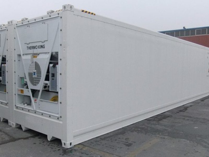 40ft hc Kühlcontainer Thermo King Bj2004