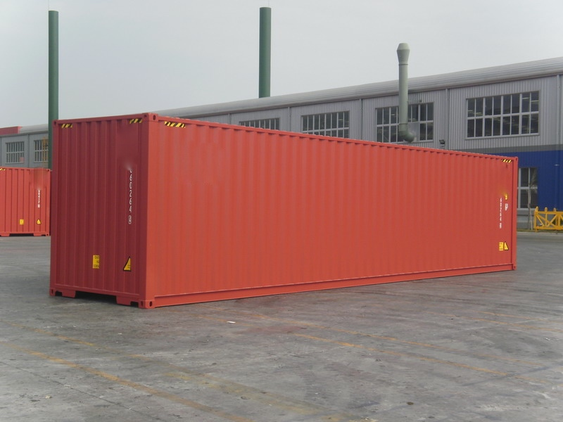 40 Fuß HC (High Cube) Seecontainer