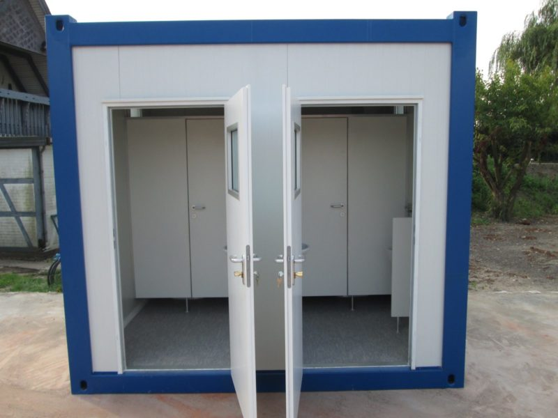 10 fu sanit rcontainer neu dusche wc. Black Bedroom Furniture Sets. Home Design Ideas