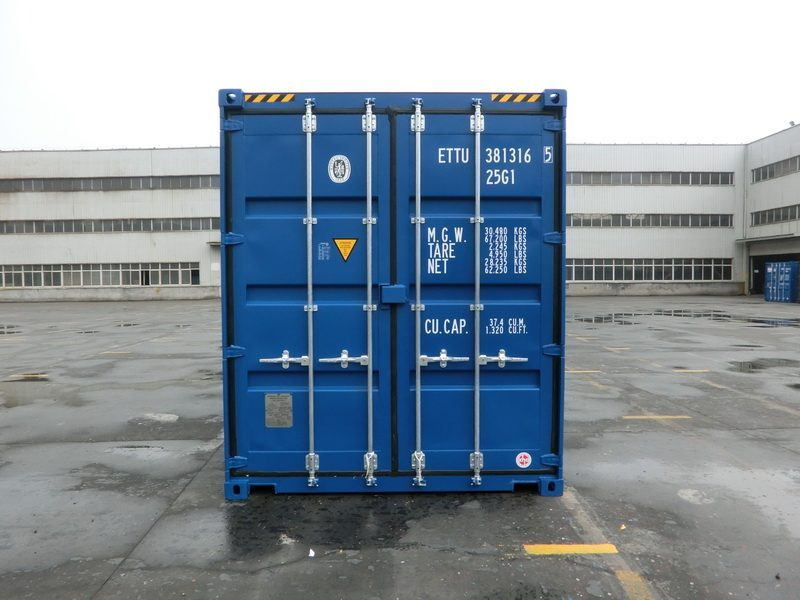 20 fu high cube container blau. Black Bedroom Furniture Sets. Home Design Ideas
