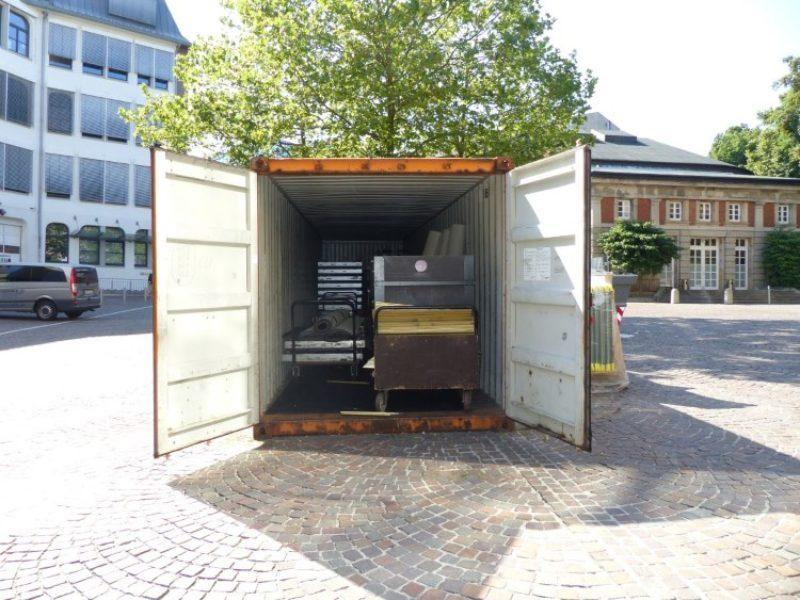 gebrauchter 40 fu seecontainer. Black Bedroom Furniture Sets. Home Design Ideas