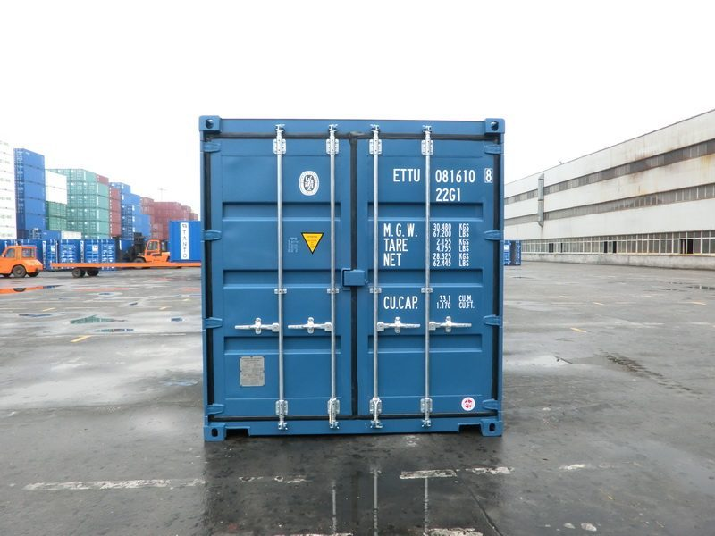 20 fu container blau. Black Bedroom Furniture Sets. Home Design Ideas