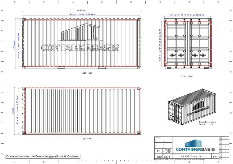 container zeichnung download datenblatt 2d 3d cad pdf dwg stp. Black Bedroom Furniture Sets. Home Design Ideas