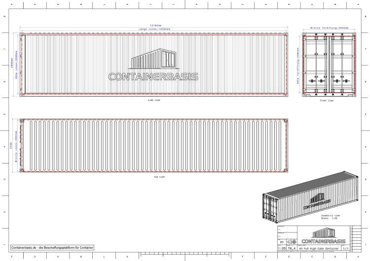 Shipping Container Drawing Joy Studio Design Gallery