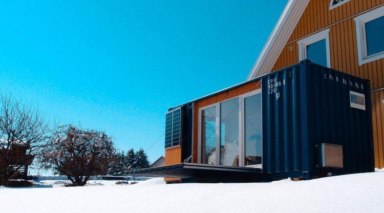 der pocketcontainer wohnen im 20 fu container. Black Bedroom Furniture Sets. Home Design Ideas