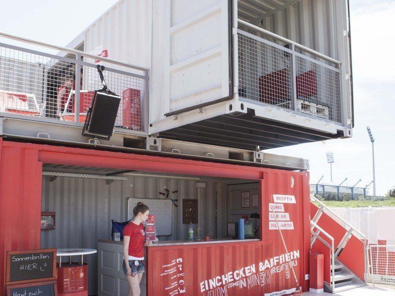 club house - die containerarchitektur für ihr event - Container Architektur