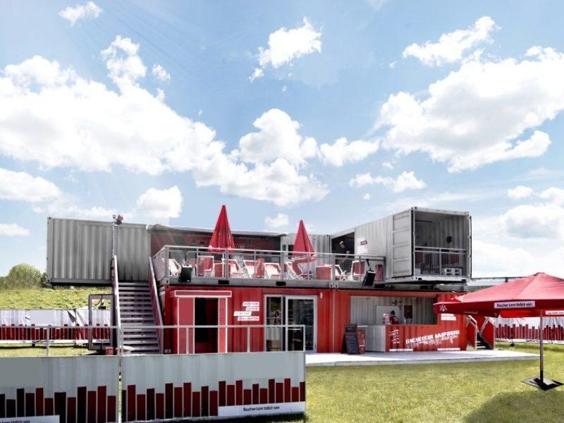 Club House Die Containerarchitektur Fur Ihr Event