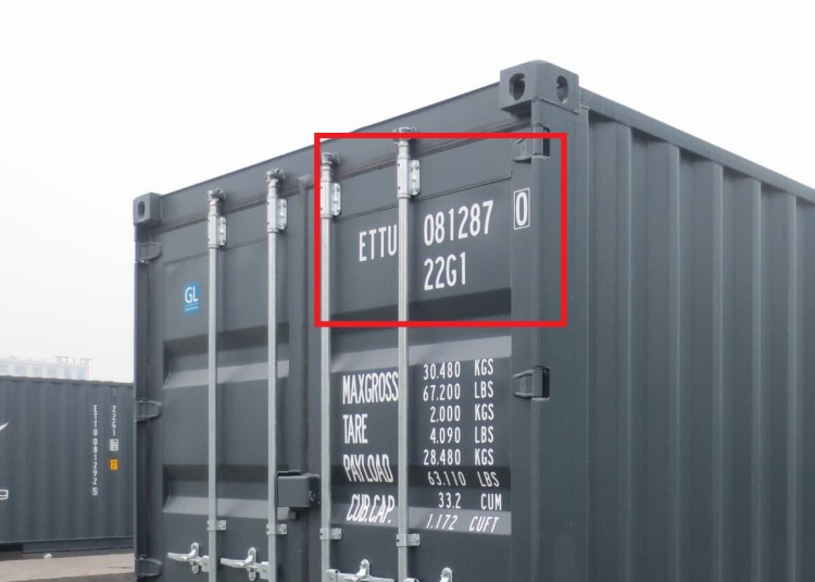 Seecontainer Hersteller containernummern jede ist einmalig containerbasis de