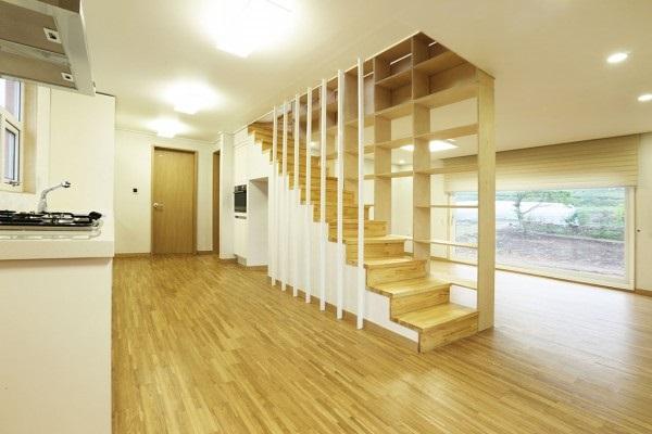 ein containerhaus in korea. Black Bedroom Furniture Sets. Home Design Ideas